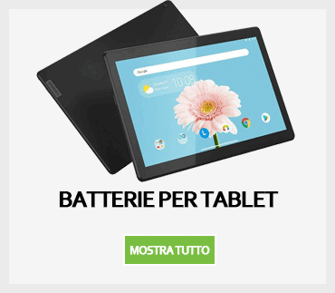 Batterie per tablet
